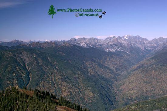 Idaho Peak Views, Kootenays, British Columbia, Canada CM11-004