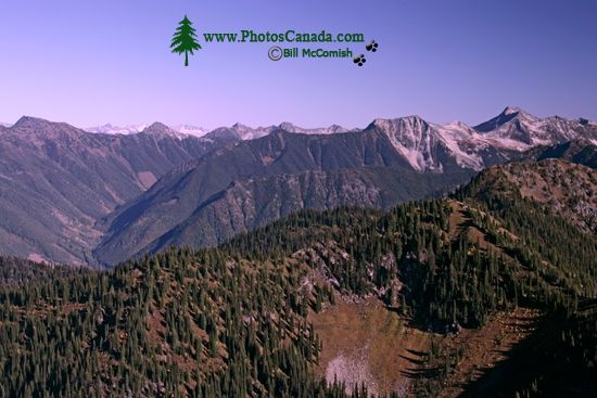 Idaho Peak Views, Kootenays, British Columbia, Canada CM11-008