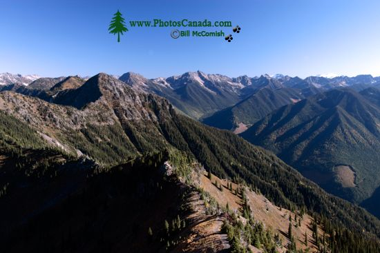 Idaho Peak Views, Kootenays, British Columbia, Canada CM11-009