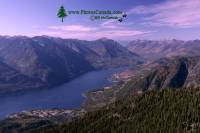 Highlight for Album: Idaho Peak, New Denver, Kootenays, British Columbia Stock Photos