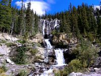 Tangle Falls, Icefields Parkway, Banff National Park, Alberta, Canada 21