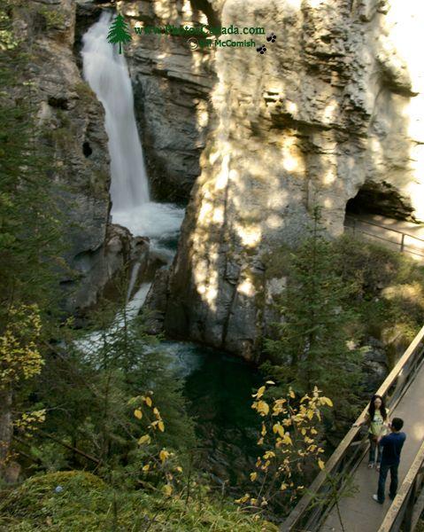 Lower Falls, Johnson Canyon, Banff National Park, Alberta CM11-08