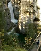 Lower Falls, Johnson Canyon, Banff National Park, Alberta CM11-08