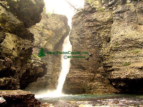 Johnston Canyon, Upper Falls, Banff National Park, Alberta, Canada 01
