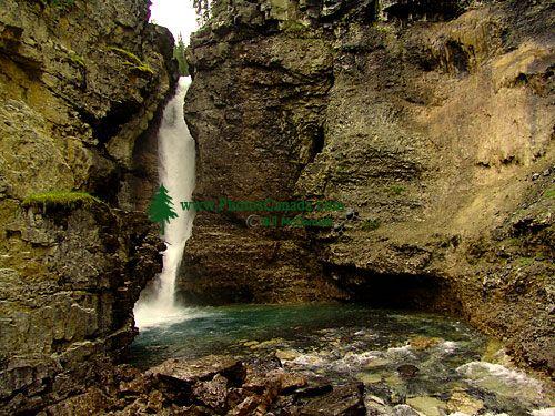Johnston Canyon, Lower Falls, Banff National Park, Alberta, Canada 04
