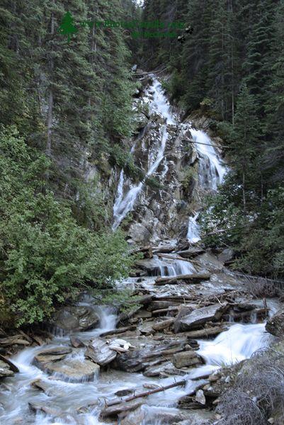 Jumbo Falls, Kootenay Rockies, British Columbia, Canada CM11-006