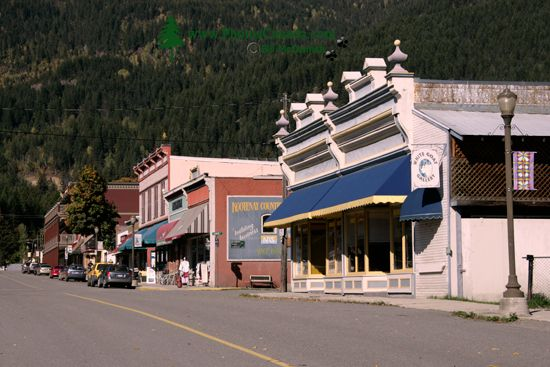 Kaslo, Kootenay Lake, West Kootenays, British Columbia, Canada CM11-001
