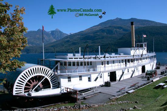 Kaslo, S S Moyie, Kootenay Lake, West Kootenays, British Columbia, Canada CM11-003