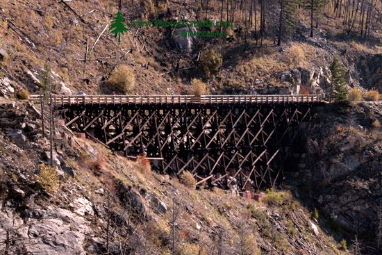 Kettle Valley Trestles, Kelowna, British Columbia, Canada CM11-003