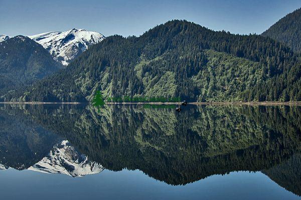 Khutzeymateen Inlet, Gateway To Khutzeymateen Grizzly Sanctuary, British Columbia, CM11-04