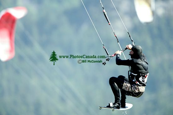 Kiteboarding, Squamish Harbour, British Columbia, Canada 08
