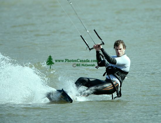 Kiteboarding, Squamish Harbour, British Columbia, Canada 06