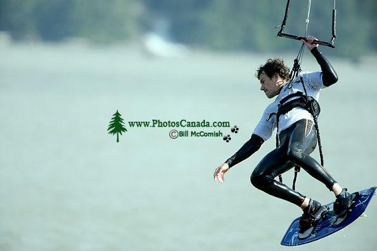 Kiteboarding, Squamish Harbour, British Columbia, Canada 05