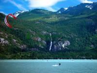 Highlight for Album: Kiteboarding, Squamish, British Columbia, Stock Photos