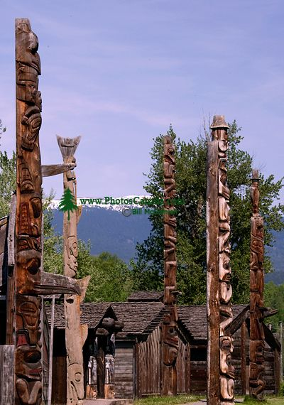Ksan Historical Native Village, Hazelton, British Columbia, Canada CM11-01
