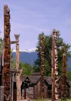 Ksan Historical Native Village, Hazelton, British Columbia, Canada CM11-01