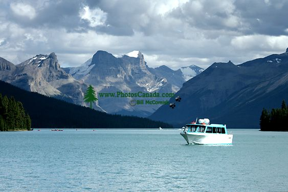 Maligne Lake, Jasper National Park, Alberta, Canada CM11-06