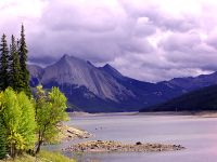 Medicine Lake, Jasper National Park, Alberta, Canada 09