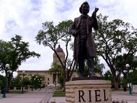 Louis Riel Statue, 