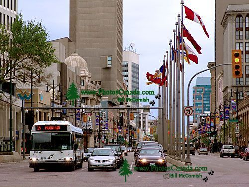 Portage and Main. Winnipeg, Manitoba, Canada 06