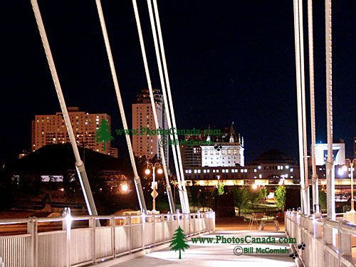 Esplanade Riel Pedestrian Bridge, Winnipeg, Manitoba, Canada 04