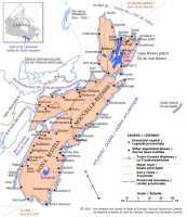 Map of Nova Scotia, Canada