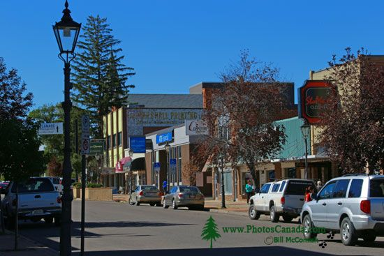 Medicine Hat, Historic Downtown, Alberta, Canada CMX-003