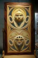 Museum of Anthropology, Great Hall, UBC, British Columbia, Canada CM11-01