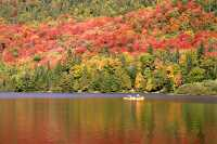 One of the many lakes at Mont-Tremblant National Park. September 2007