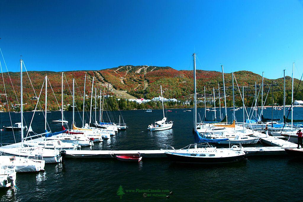 Mont-Tremblant Resort and Lac Tremblant Marina. September 2007