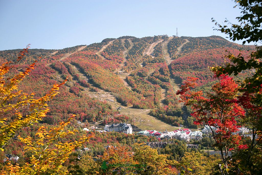 Mont-Tremblant Resort and Ski-Trails. September 2007.