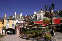 Mont-Tremblant pedestrian village. September 2007.