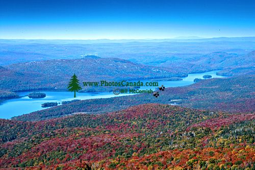 Views from Mont Tremblant, Quebec, Canada CM11-06