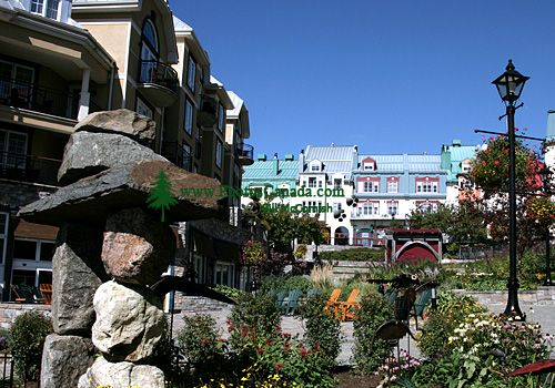 Mont Tremblant Resort Village Photos, Quebec, Canada CM11-05
