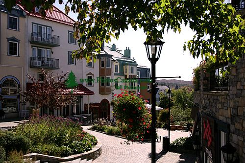 Mont Tremblant Resort Village Photos, Quebec, Canada CM11-06