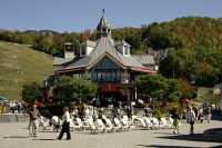 Mont Tremblant Resort Village Photos, Quebec, Canada CM11-08