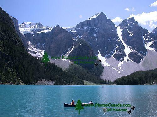 Moraine Lake, Banff National Park, Alberta, Canada CM11-07