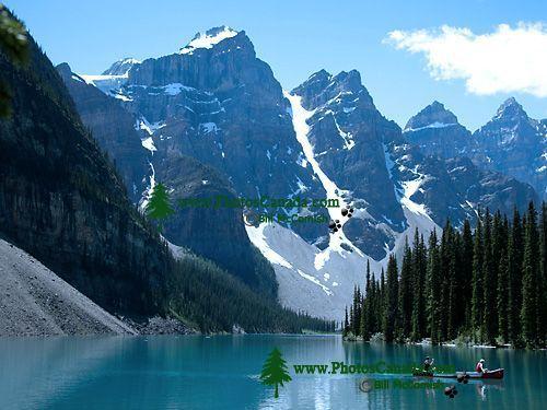 Moraine Lake, Banff National Park, Alberta, Canada CM11-08
