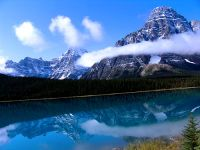 Lower Waterfowl Lake, Icefields Parkway, Jasper National Park, Alberta, Canada 01