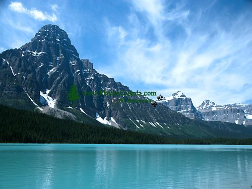 Mount Chephren, Lower Waterfowl lake, Icefields Parkway, Jasper National Park, Alberta, Canada CM11-03