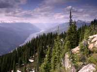 Columbia River, Mount Revelstoke National Park, British Columbia, Canada CM11-11