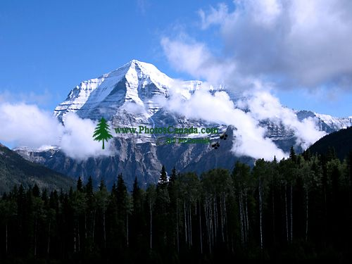 Mount Robson, Mount Robson Park, British Columbia, Canada CM11-05