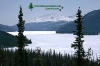 Highlight for Album: Muncho Lake Provincial Park Photos, Alaska Highway, Northern British Columbia Stock Photos