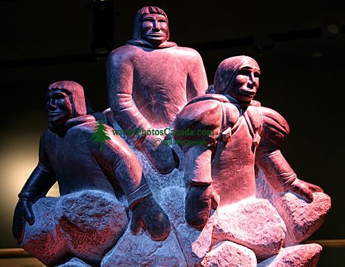 Museum of Civilization Photos, First Peoples of Canada, Ottawa, Ontario, Canada (Photo Not For Sale) CM11-28