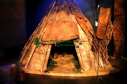 Museum of Civilization Photos, First Peoples of Canada, Ottawa, Ontario, Canada (Photo Not For Sale) CM11-34