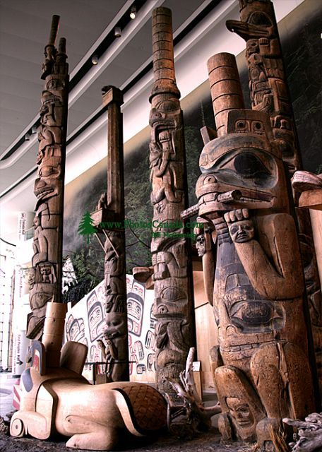 Museum of Civilization, Peoples of the Northwest Coast, Ottawa, Ontario, Canada (Photo Not For Sale) CM11-07