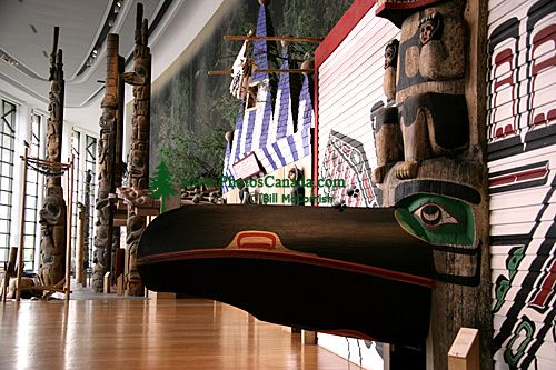 Museum of Civilization, Peoples of the Northwest Coast, Ottawa, Ontario, Canada (Photo Not For Sale) CM11-06