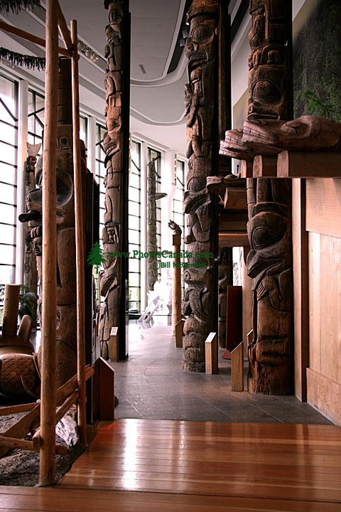 Museum of Civilization, Peoples of the Northwest Coast, Ottawa, Ontario, Canada (Photo Not For Sale) CM11-09