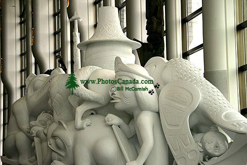 Museum of Civilization, Spirit of Haida Gwaii by Bill Reid, Ottawa, Ontario, Canada (Photo Not For Sale) CM11-11