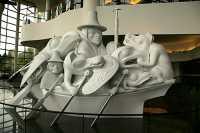 Museum of Civilization, Spirit of Haida Gwaii by Bill Reid, Ottawa, Ontario, Canada (Photo Not For Sale) CM11-12